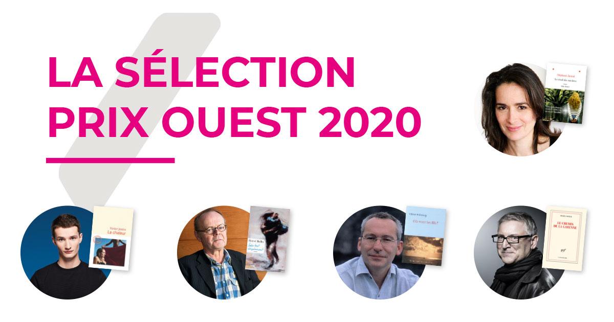 Image : Sélection Prix Ouest 2020 - Printemps du Livre - Terres de Montaigu